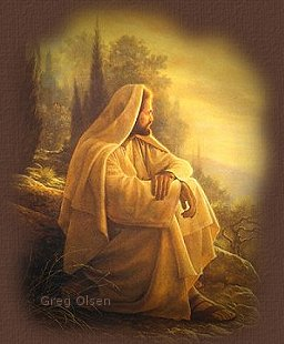 The Alpha and Omega is the beautiful artwork of Greg Olsen