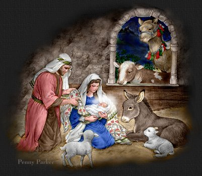 Baby From Bethlehem Nativity top graphic