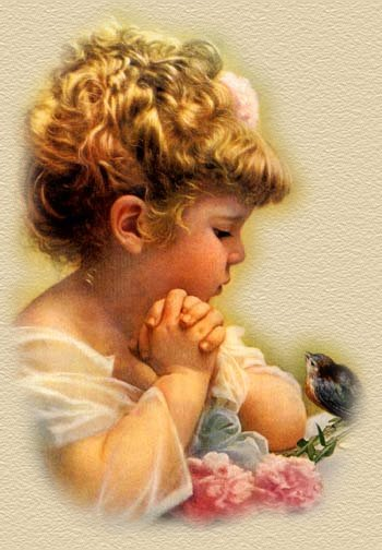 Lovely graphic of child and bird to signify the friendship between the two of us.