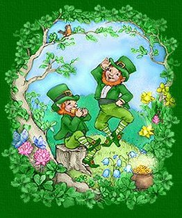 You don't have to be Irish to enjoy these cute leprechaun graphics.