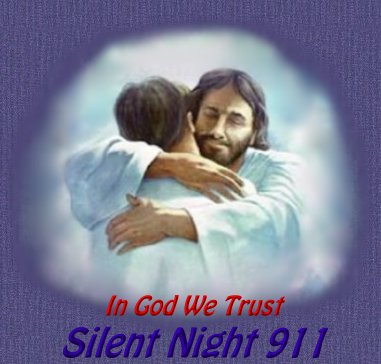 In God We Trust.  Silent Night 911 title graphic.