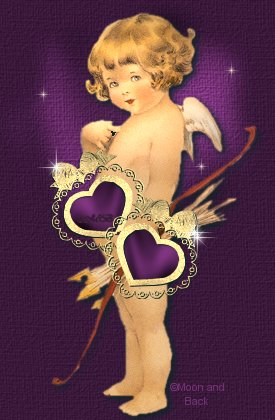 "Cupid ask, ""Who Me""."