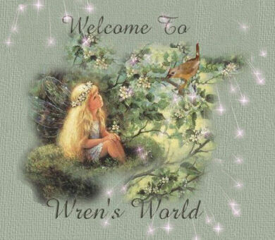 Welcome to WrensWorld.com...the entrance to Wren's Harbor Nest, Wren's City Nest,Wren's Kids Nest,Wren's Heavenly Greeting Cards, and The Chapel in Wrens World.  We hope you enjoy the many inspirational poems,stories,Christian content,Java applets,MIDI's, games, and jokes you will find in the Branches of WrensWorld.