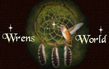 Native American Logo for WrensWorld.com. WrensWorld holds several Branches, including WrensWorld Harbor Nest, City Nest, Kid's Nest, WrensWorld Heavenly Greeting Cards, and the Chapel in WrensWorld.We hope you enjoy your visit in Wren's World. You will find many inspirational poems, stories, greeting cards and Christian content, Java applets, MIDI's, jokes and games.
